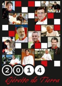 Calendario Chefs cocina Ejercito