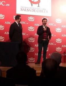 Nacho Manzano en ABC Salsa de Chiles