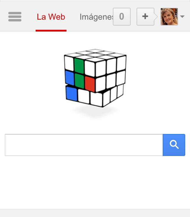 Rubik cube en google