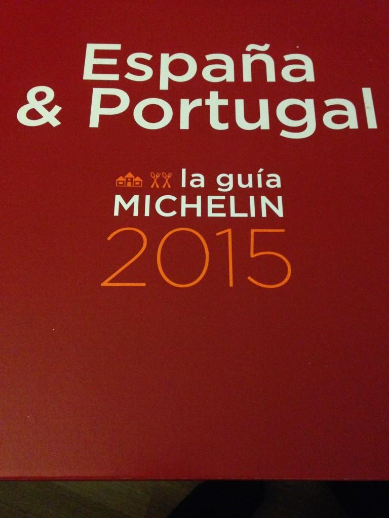 Guia Roja, Guia Michelin 2015