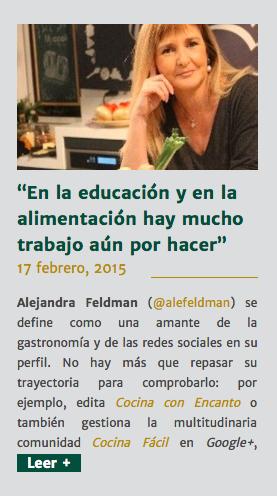 Alejandra Feldman y Naranjas torres
