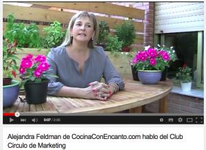 Alejandra Feldman en Club Circulo de Marketing