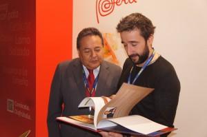 Alfonso Velasquez Tuesta y Diego Guerrero