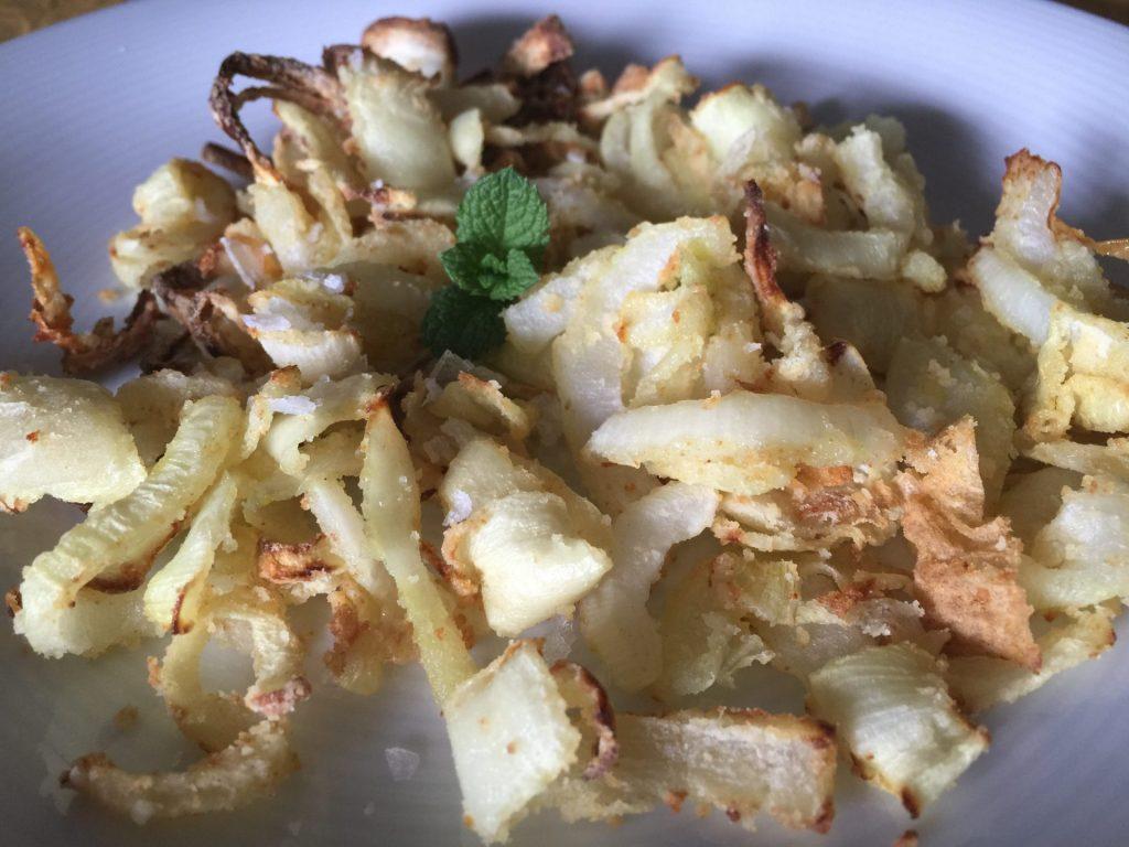 Cebollas Fritas en Actifry