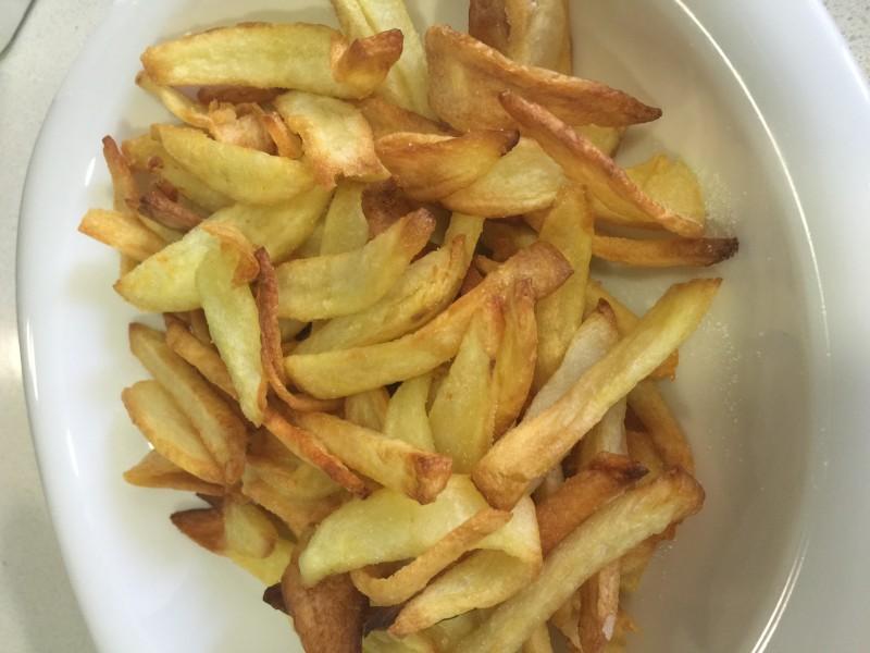 Patatas fritas en Actifry