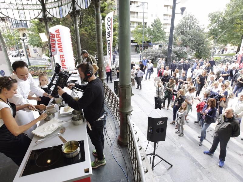 Iñigo Lavado en San Sebastian Gastronomika 2016