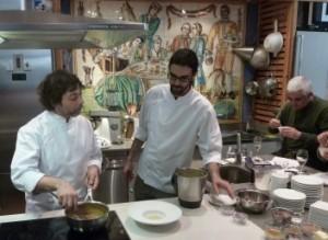 Andrés Madrigal y la Cocina Ibérica en Alambique