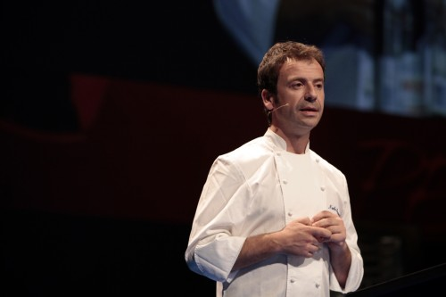"""Nacho Manzano en San Sebastian Gastronomika"""