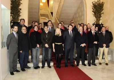 2012-01-17 SALAMANCA EN MADRID FUSION (CON ANA CAPEL)