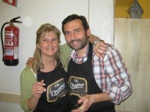 Carlos Noceda y Alejandra Feldman