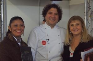 Gaston Acurio, Alejandra Feldman e Irina Herrera