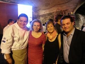 Con el Secretario de Turismo y Subsecretaria