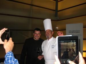 Arguiñano y Josep Roca