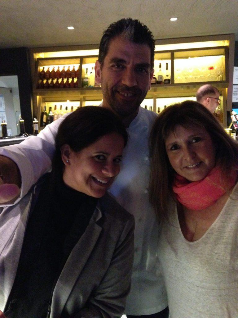 Selfie con Paco Roncero