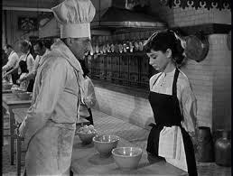 Divertida imagen de Audrey Hepburn
