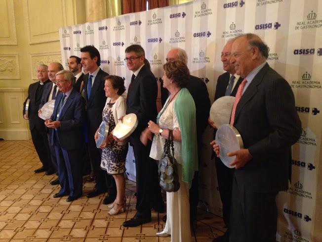 Ganadores Premio Nacional de Gastronomía