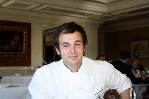 Ángel Aceituno, Chef Ejecutivo Hilton Toledo