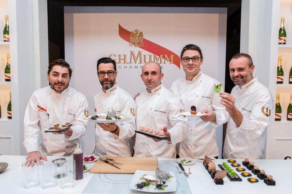 Maison Mumm 2014_cocineros y reposteros