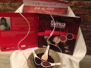 Quinua Cinco Continentes, Recetario Gourmet