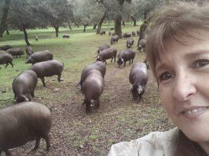 Alejandra Feldman en La Dehesa Cinco Jotas