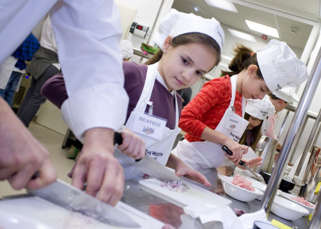 Westin Palace Junior chef