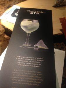 Gin Tonic Alma