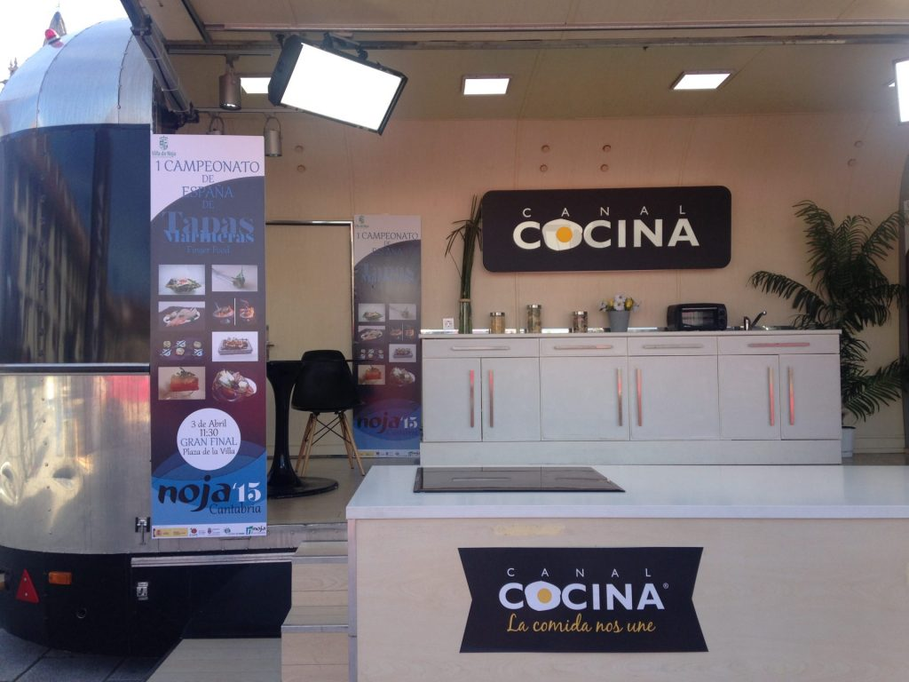 Canal Cocina on the road