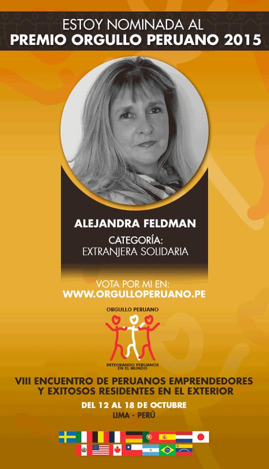 Orgullo Peruano Alejandra Feldman