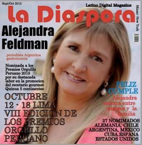 Nominada Premios Orgullo Peruano 2015