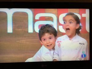Lukas y María en la final