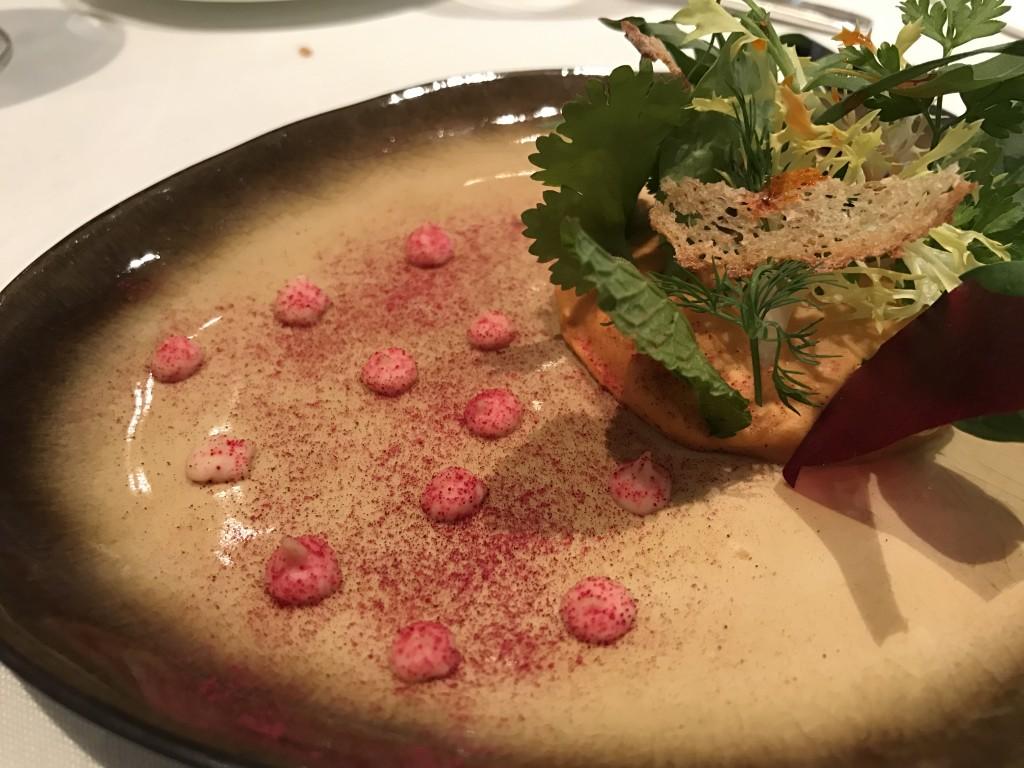 Hummus con hierbas