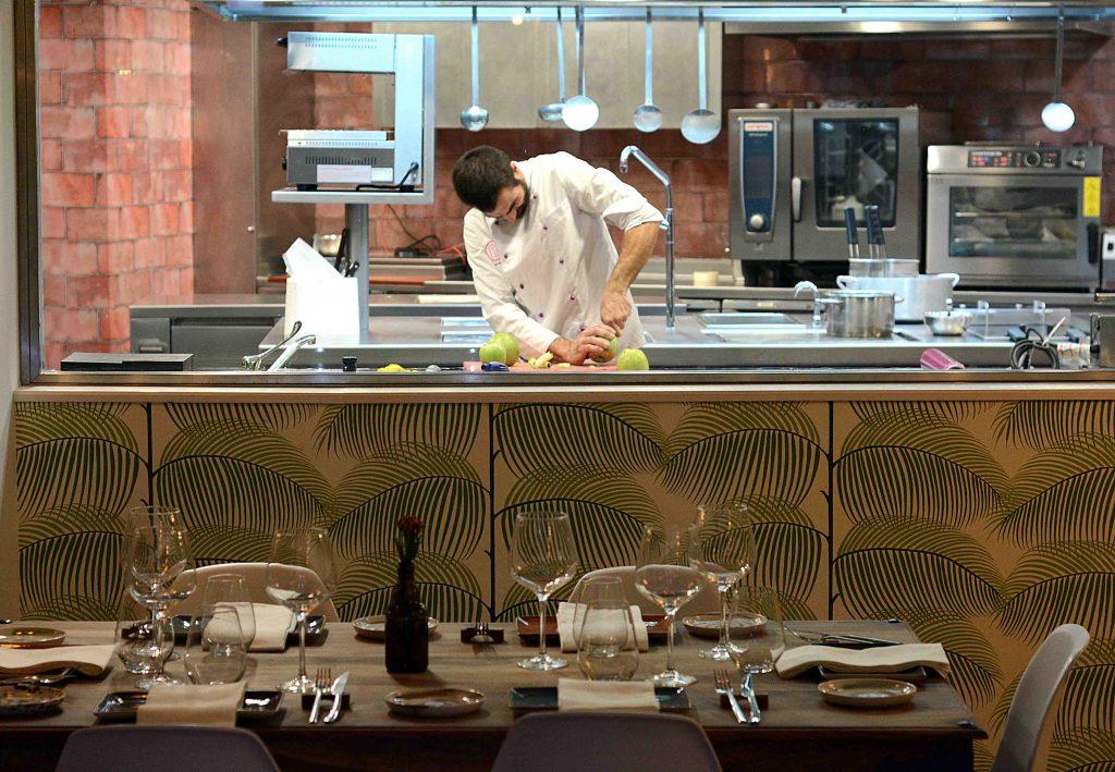 Cocina y Parrilla